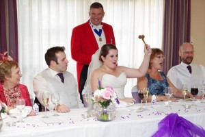 Peter Tautz - Officiating at a wedding