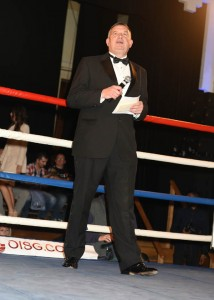 Peter Tautz - Officiating at a boxing match