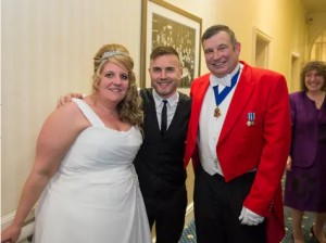 Gary Barlow and Peter Tautz AKA The Right Toastmaster
